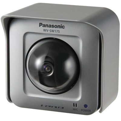 Panasonic WV-SW175 outdoor IP camera with pan/tilt, HD720p, wide dynamic range and face detection