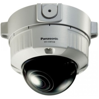 Panasonic i-Pro WV-SW558 outdoor, vandal-resistant HD 1080p network camera with day/night, face detection and PoE