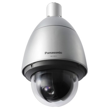 Panasonic WV-X6511N outdoor vandal-resistant PTZ dome IP camera with HD 720p resolution, 40x optical zoom, PoE+ and H.265