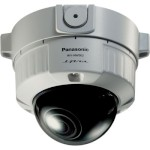 Panasonic i-Pro WV-NW502S outdoor, 3 megapixel, fixed dome IP camera with vandal-resistant casing, two-way audio, H.264, Po