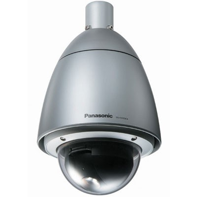 Panasonic i-Pro WV-NW964 outdoor, pan/tilt/zoom IP camera with 30x optical zoom, IP66-rated housing, day/night function