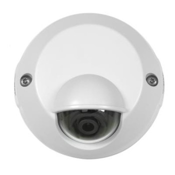 Axis M3113-VE NOCAP outdoor fixed dome IP camera with vandal-resistant compact design, tamper alarm and wide field of view