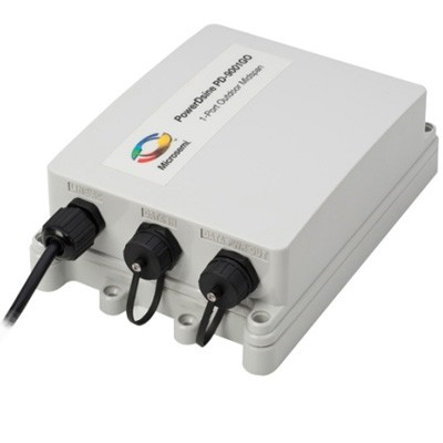 PowerDsine PD-9001GO/AC outdoor-ready single-port IEEE802.3at Power over Ethernet Plus gigabit midspan with surge protectio