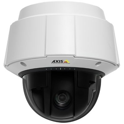 Axis Q6034-E outdoor, HD 720p, pan/tilt/zoom IP security camera with 18x optical zoom, day/night function, H.264, HPoE