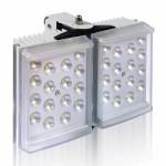 Raytec Raylux 100 white light LED illuminator, up to 120 metres range, adjustable angle, outdoor