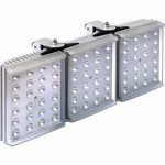 Raytec Raylux 300 white light LED illuminator, up to 240 metre range, adjustable angle, outdoor