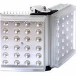 Raytec Raylux 200 white light LED illuminator, up to 200 metres range, adjustable angle, outdoor