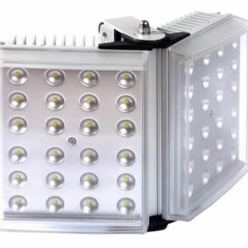 Raytec Raylux 200 white light LED illuminator, up to 200 metres range, adjustable angle, outdoor