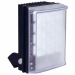 Raytec Raylux 50 HP PoE white light LED illuminator, up to 50 metre range, adjustable angle
