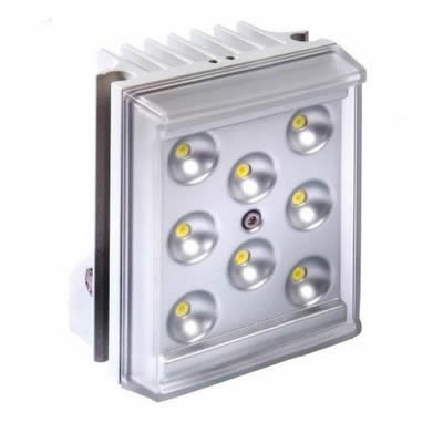 Raytec Raylux 25 white light LED illuminator, up to 20 metres range, adjustable angle, outdoor