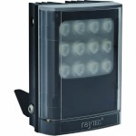 Raytec Vario i4-1 infrared illuminator with Adaptive Illumination up to 120° and a maximum of 120m distance