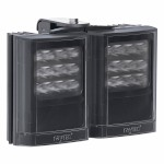 Raytec Vario i4-2 double infrared illuminator with Adaptive Illumination up to 180° and a maximum of 220m distance