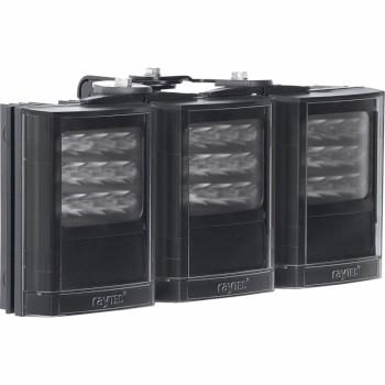 Raytec Vario i4-3 triple infrared LED illuminator with Adaptive Illumination up to 180° and a maximum of 260m distance