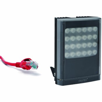 Raytec Vario IP PoE i8 network infrared LED illuminator with up to 120° beam angle and a maximum of 220m distance