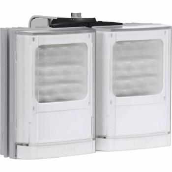 Raytec Vario w4-2 double white-light LED illuminator with Adaptive Illumination up to 180° and a maximum of 150m distance