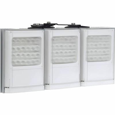 Raytec Vario w8-3 triple white-light LED illuminator with Adaptive Illumination up to 180° and a maximum of 260m distance
