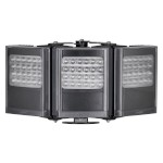 Raytec Vario2 i8-3 triple infrared LED illuminator with up to 180° beam angle and a maximum of 606m distance