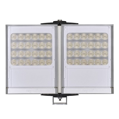 Raytec Vario2 w8-2 double white-light LED illuminator with up to 180° beam angle and a maximum of 254m distance