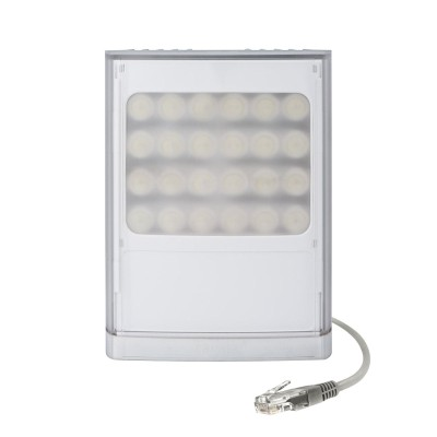 Raytec Vario2 IP PoE w8-1 network white-light LED illuminator with up to 120° beam angle and a maximum of 180m distance