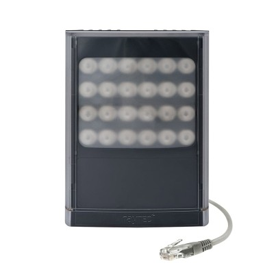 Raytec Vario2 PoE i8-1 infrared LED illuminator with up to 120° beam angle and a maximum of 350m distance