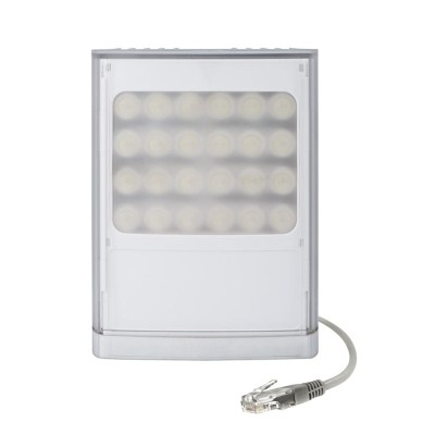 Raytec Vario2 PoE w8-1 white-light LED illuminator with up to 120° beam angle and a maximum of 180m distance