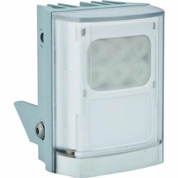 Raytec Vario w2-1 white-light LED illuminator with Adaptive Illumination up to 120° and a maximum of 50m distance