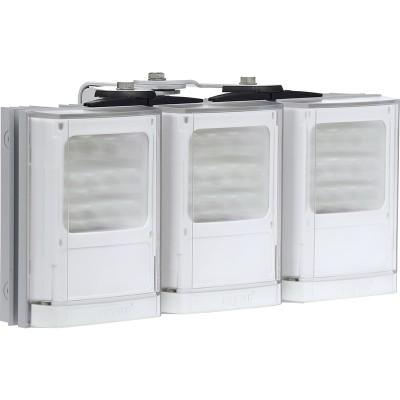 Raytec Vario w4-3 triple white-light LED illuminator with Adaptive Illumination up to 180° and a maximum of 170m distance