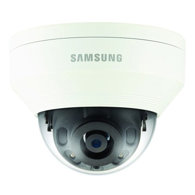 Samsung Wisenet QNV-6010R outdoor vandal-resistant dome IP camera with HD 1080p resolution, up to 20m IR and PoE