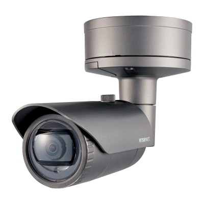 Wisenet XNO-6010R outdoor vandal-resistant bullet IP camera with HD 1080p resolution, 20m IR and dual SD recording