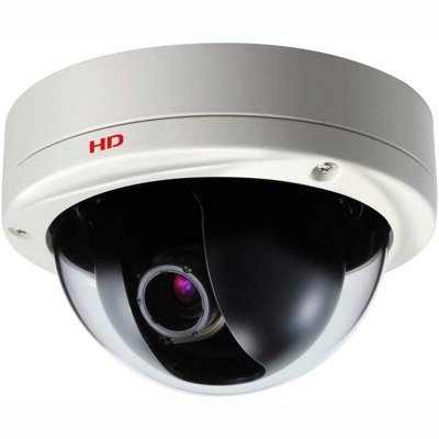 Sanyo VDC-HD3100P varifocal, outdoor fixed dome HD 1080p IP security camera with vandal-resistant casing and PoE