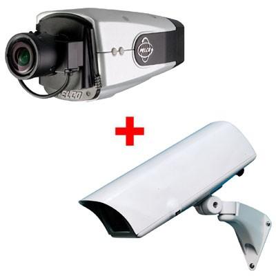 Pelco IX10-DN Network camera – Outdoor bundle wall mount