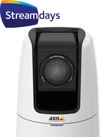 Axis V5915 with Streamdays logo