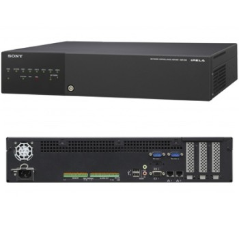 Sony NSR-500 Network Video Recorder with support for up to 16 cameras and up to 12TB storage