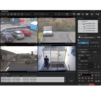 Sony IMZ-NS101M Realshot Manager Advanced - Intelligent Monitoring Software 1-channel license