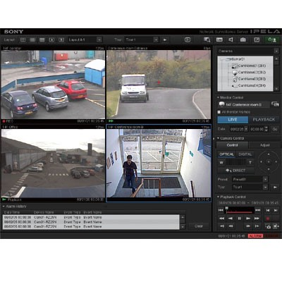 Sony IMZ-NS116M Realshot Manager Advanced - Intelligent Monitoring Software 16-channel license