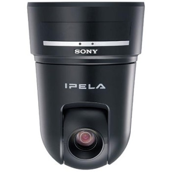 Sony SNC-RX550P IP camera with pan tilt and 26x optical zoom,  day/night switching, dual streaming and H.264 compression