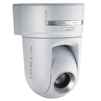 Sony SNC-RZ25P Network camera with pan-tilt-zoom Audio Day/Night Switching Motion Detection and Wireless card slot