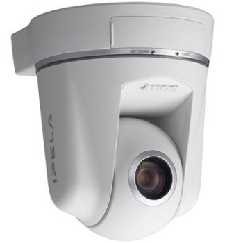 Sony SNC-RZ50P IP camera with pan tilt and 26x optical zoom, progressive scan, day/night switching and two way audio