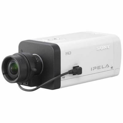 Sony SNC-CH240 indoor, HD 1080p, fixed IP camera with day/night function, wireless capability, H.264, PoE