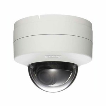 Sony SNC-DH140T indoor, HD 720p, fixed dome IP camera with vandal-resistant casing, View DR, XDNR, H.264, PoE