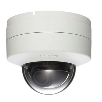 Sony SNC-DH240T indoor, HD 1080p, fixed dome IP camera vandal-resistant casing, View DR, XDNR H.264, PoE