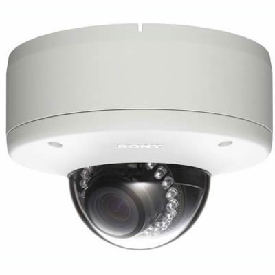 Sony SNC-DH280 outdoor, HD 1080p, fixed dome IP camera with 20m IR illumination, View DR, XDNR, H.264, PoE