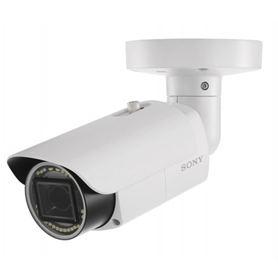 Sony SNC-VB642D outdoor bullet IP camera with 1080p resolution, up to 100m IR, XDNR, edge storage and PoE+