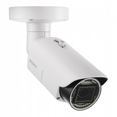 Sony SNC-EB642R outdoor bullet IP camera with HD 1080p resolution, up to 60m IR, XDNR, View-DR, edge storage and PoE
