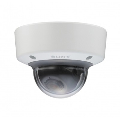 Sony SNC-EM641 indoor vandal-resistant mini-dome IP camera with HD 1080p (60fps), View-DR, XDNR, edge storage and PoE