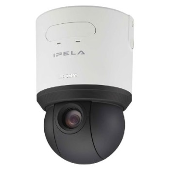 Sony SNC-RS44P Endless PTZ IP camera with 18x zoom, day/night, H.264, 2-way audio, CF card slot, HPoE and ONVIF compliant