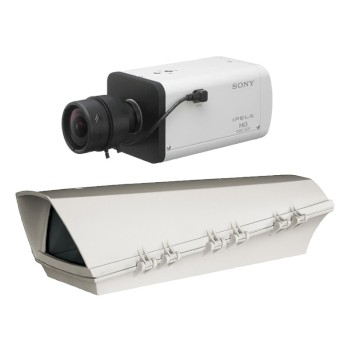 Sony SNC-VB635 outdoor POE bundle, HD 1080p camera capable of 60 fps, with View-DR and true day/night