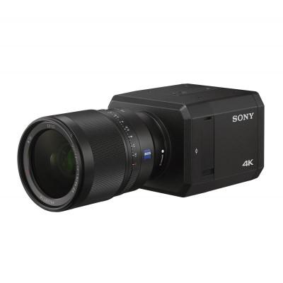 Sony SNC-VB770 indoor 4K Ultra HD box IP camera, ultra high sensitivity, E-mount lens, XDNR, edge storage and PoE