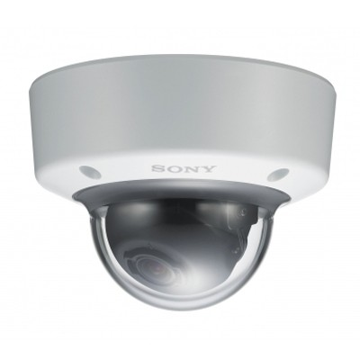 Sony SNC-VM641 indoor vandal-resistant dome IP camera with HD 1080p (up to 60 fps), XDNR, SD card storage and PoE