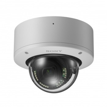 Sony SNC-VM772R outdoor 4K dome IP camera, ruggedised, 50m illuminated IR, 2.9x optical zoom and SD storage